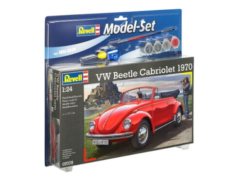 REVELL Model Set VW Beetle Cabriolet 1970