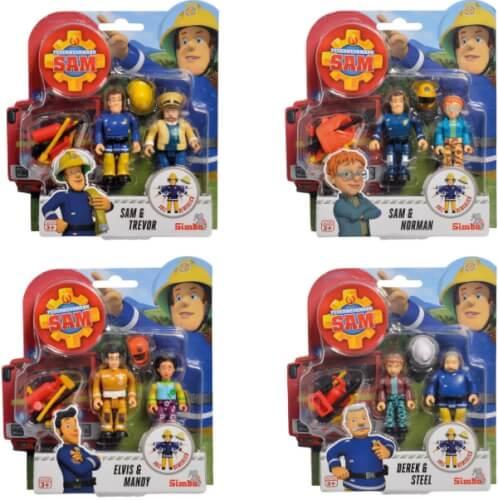 Simba Sam Figuren Doppelpack III, 4-sortiert.