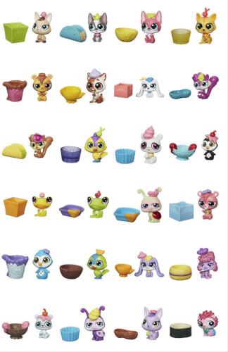 Hasbro Littlest Pet Shop Überraschungstierchen