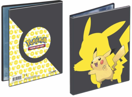 Pokémon Pikachu 2019 4-Pocket Portfolio