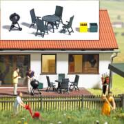 H0 Gartenmöbel und Grill