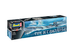 REVELL German Submarine Type IX C U67/U 1:72