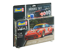 Revell 67031 Modellbausatz+G60 Porsche 934 RSR Jägermeister M+G60odel Set 1:24