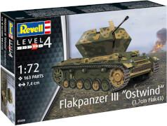 Revell Flakpanzer IIIOstwind(3,7 cm Flak 43)