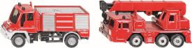 SIKU 1661 SUPER - Feuerwehr-Set, ab 3 Jahre