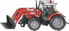 SIKU 3653 FARMER - Massey Ferguson 894 mit Frontladergabel, 1:32, ab 3 Jahre
