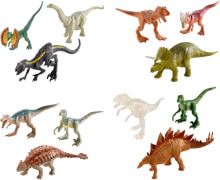 Mattel FPN72 Jurassic World Mini Dino 3er-Pack Sortiment