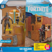 Jazwares Fortnite FNT0048 FORTNITE - 1x1 Builder Set mit Spielfigur Black Knight Serie 1