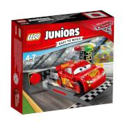 LEGO® Juniors 10730 CARS Lightning McQueens Beschleunigungsrampe, 47 Teile, ab 4 Jahre