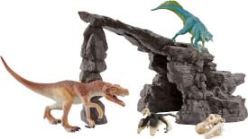 Schleich Dinosaurs - 41461 Dinoset mit Höhle, ab 5 Jahre