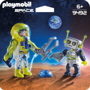 PLAYMOBIL 9492 Duo Pack Astronaut und Roboter