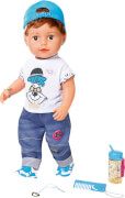 Zapf 826911 BABY born Soft Touch Brother 43 cm