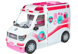 Mattel FRM19 Barbie 2-in-1 Krankenwagen Spielset
