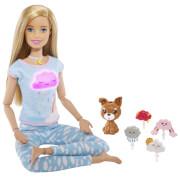Mattel GNK01 Barbie Wellness Meditation Puppe (blond)