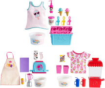 Mattel GHK38 Barbie #Cooking & Baking'' Fashion + Piece Count Sortiment