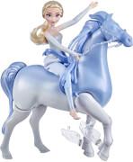 Hasbro E67165L0 Frozen 2 Elsa & Schwimm-u. Lauf Nokk
