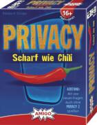 AMIGO 00780 Privacy Scharf wie Chili, 5-10 Spieler, Spieldauer ca. 40 Minuten, ab 16 Jahren