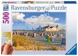 Ravensburger 136520  Puzzle Gold Edition Strandkörbe in Ahlbeck 500 Teile