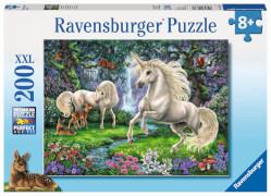 Ravensburger 12838 Puzzle Geheimnisvolle Einhörner 200 Teile