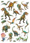Schmidt Spiele Puzzle: Wilde Dinos, mit add on (Tattoos Dinosaurier) 150 Teile