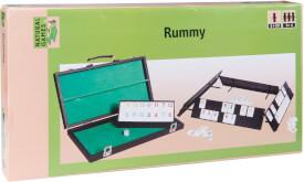 Natural Games Rummy im Koffer, 106 Steine