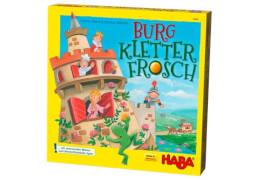 HABA - Burg Kletterfrosch, für 2-4 Spieler, ca. 20 min, ab 5 Jahren