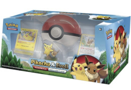 Pokémon Pokeball-Kollektion Pikachu & Evoli