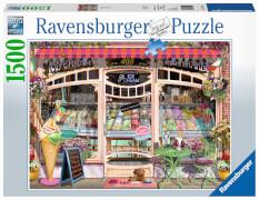 Ravensburger 16221 Puzzle: Ice Cream Shop, 1500 Teile
