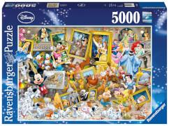Ravensburger 17432 Puzzle Disney Mickey Mouse Mickey als Künstler 5000 Teile