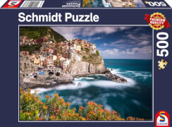 Schmidt Spiele Puzzle Manorola, Cinque Terre, Italien, 500 Teile