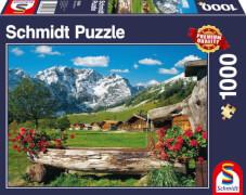 Schmidt Spiele Puzzle Blick ins Bergidyll, 1000 Teile