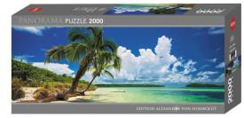 Puzzle Paradise Palms Panorama 2000 Teile