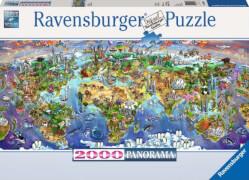 Ravensburger 16698 Puzzle Wunder der Welt 2000 Teile