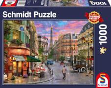 Schmidt Spiele Puzzle Straße zum Eiffelturm 1.000 Teile