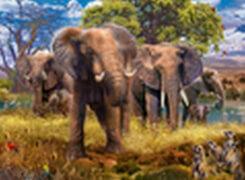 Ravensburger 15040 Puzzle Elefantenfamilie 500 Teile