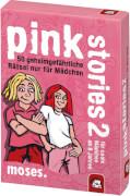moses black stories Junior - pink stories - 50 verflixt verhexte Rätsel nur fü