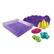 Kinetic Sand Box Set Lila 454 g
