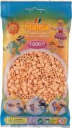 HAMA Beutel mit Perlen Helle Hautfarbe 1000 Stück