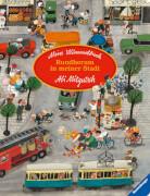 Ravensburger 43488 Mein Wimmelbuch: Rundherum in meiner Stadt