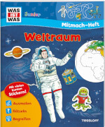 Tessloff WAS IST WAS Junior Mitmach-Heft Weltraum