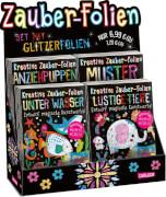 Zauber-Folien - Set mit Glitzerfolien