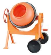 Betonmischer, groß, orange