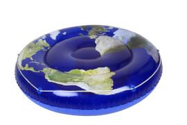 Badeinsel Blue Planet, # ca. 173 cm