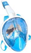 Splash & Fun Full Face Schnorchel-Maske, Gr. L/XL, blau-weiß