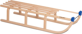 Holzschlitten Davos ca. 110 cm, ab 3 Jahren