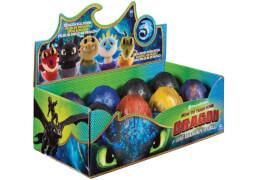 Spin Master Drachenzähmen leicht gemacht Überrasschung-Ei mit Drachen-Plüschfigur