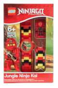 LEGO® Ninjago Jungle Kai Minifigure Link Watch (New Packaging)
