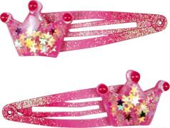 Die Spiegelburg - Prinzessin Lillifee Krönchen-Haarclips, rosa, 2 Stück