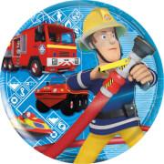 Feuerwehrmann Sam Frühstücksset aus Melamin, 3-teilig