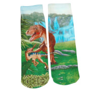 Depesche 5404 Dino World magische Socken